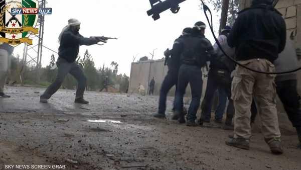 معارك في الغوطة وفي محيط مطار دمشق