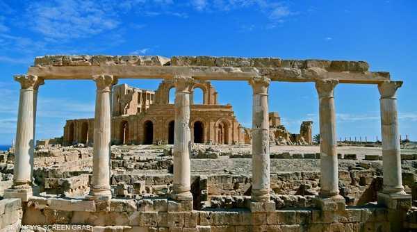 بدأت الحفائر المكثفة بمدينة صبراتة عام 1923 وحتى اكتشاف آثارها عام 1936
