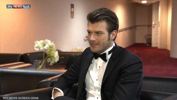 الممثل التركي كيفانش طاطليتو الشهير بمهند
