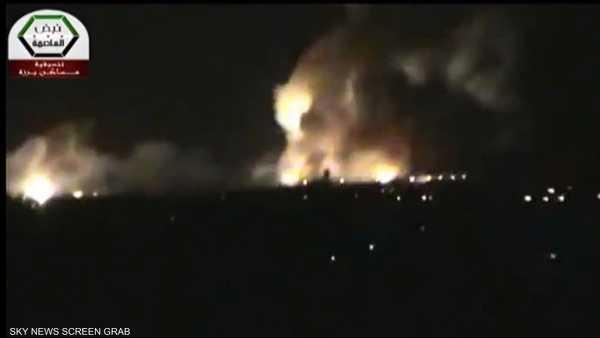 المعارضة تتحدث عن انفجار بمطار دمشق الدولي