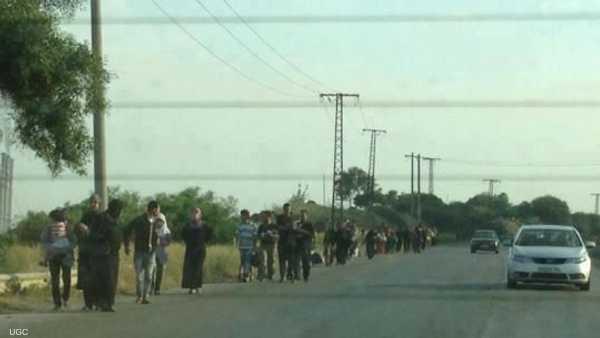 """نزوح """"مفاجئ"""" للسوريين إلى كردستان العراق 1-221079"""