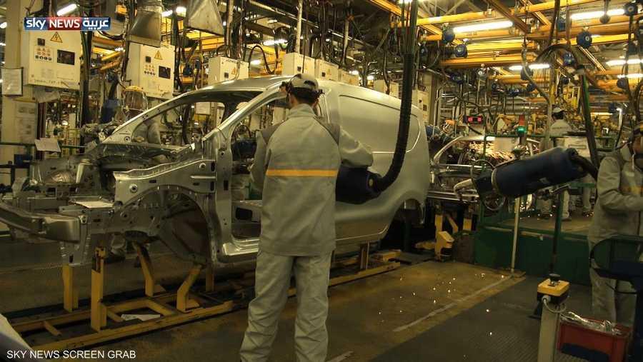 يقع مصنع رينو في المنطقة الحرة بطنجة