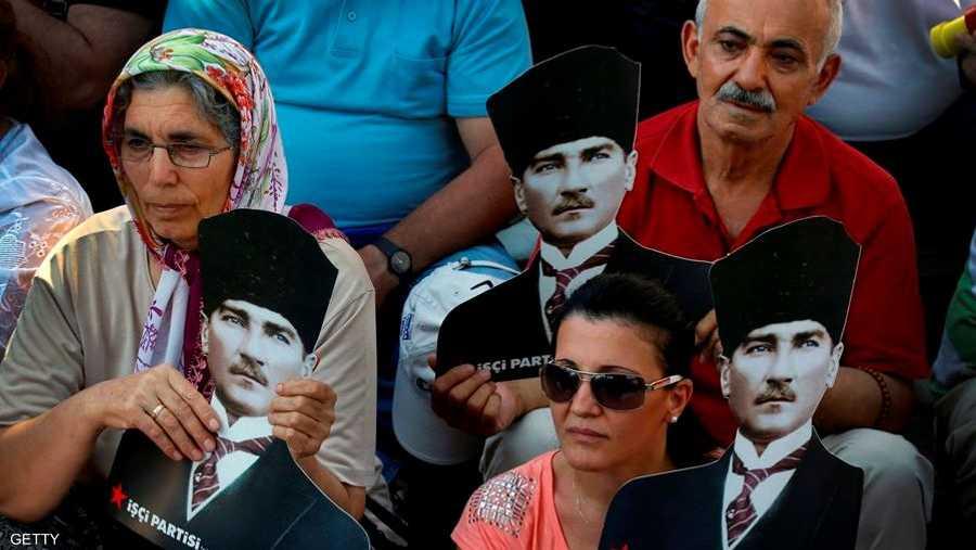 فمحبة أتاتورك عابرة للأجيال.