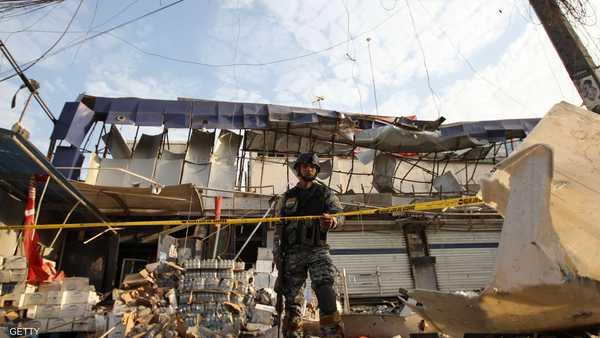 عالمي قتلى بينهم أطفال تفجير متنزه ببغداد 1-366208.jpg