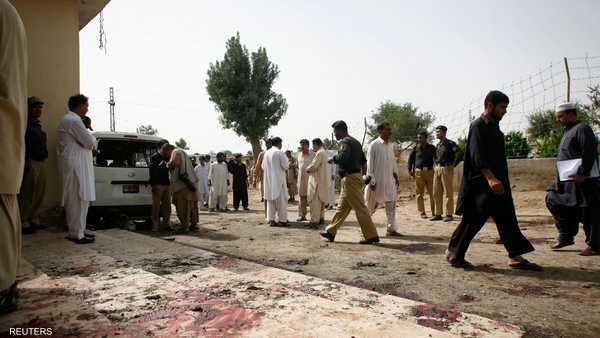 عالمي مقتل باكستانيا تفجير رصدته الكاميرا 1-379314.jpg