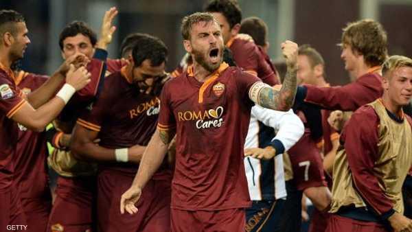 رودي غارسيا ,  الدوري الإيطالي ,  فريق روما ,  فرانشيسكو توتي ,  إيريك لاميلا