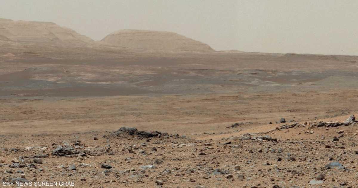 كميات من المياه على المريخ