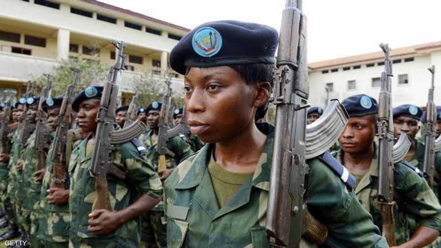 عرض عسكري في الكونغو الديمقراطية