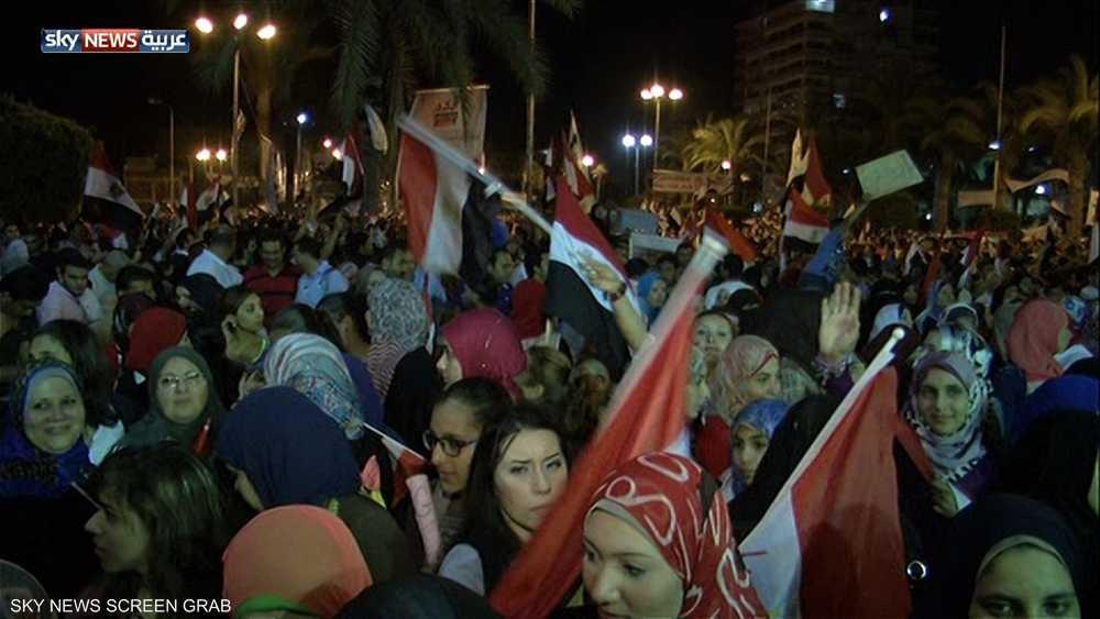 من تظاهرات النساء في الربيع العربي/ رويترز
