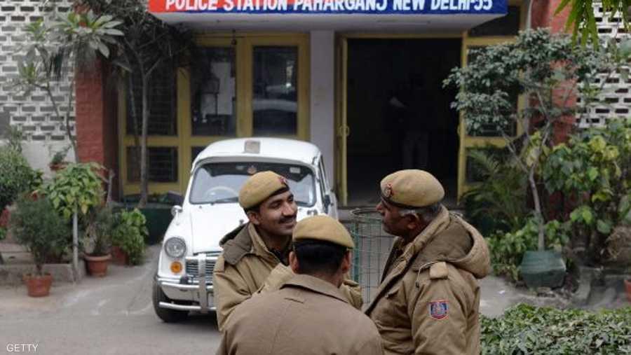 عناصر من الشرطة الهندية -أرشيفية