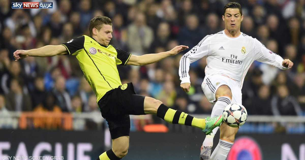 ريال مدريد يهزم دورتموند بثلاثية نظيفة