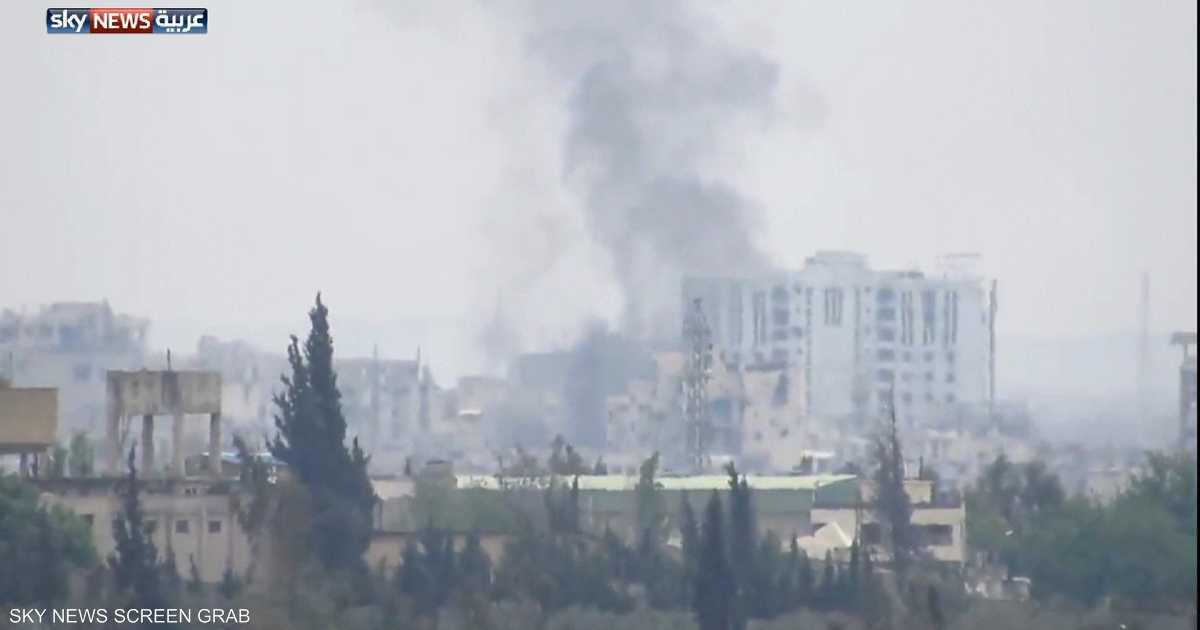 سوريا.. قصف كفرزيتا بالغازات السامة مجددا