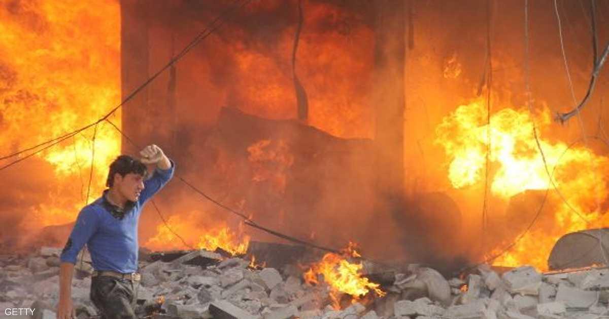 المعارضة تستهدف مخزنا للذخيرة في حلب