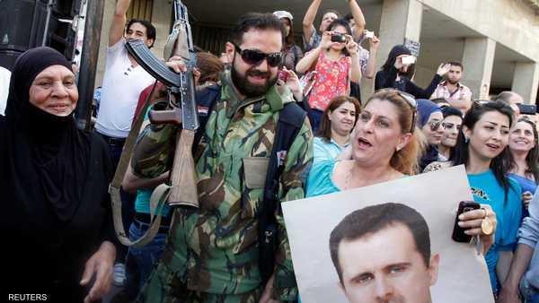 الانتخابات السورية ,   الحرب السورية ,   بشار الأسد ,   الأزمة السورية ,   عبدالحفيظ حجار ,   حسان النويري