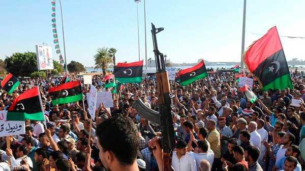 ليبيا ,  الحكومة الليبية ,  عبدالله الثني ,  خليفة حفتر ,  معارك بنغازي