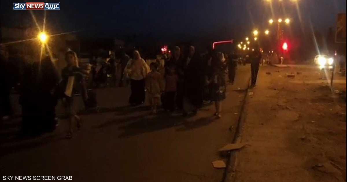 نزوح جماعي من الموصل