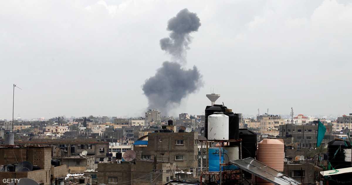 مقتل فلسطيني بغارة إسرائيلية على قطاع غزة