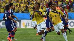 الشوط الأول.. كولومبيا 1 - 1 اليابان - أخبار سكاي نيوز عربية