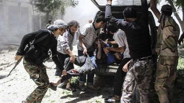 سوريا : براميل متفجرة على ريف حلب و14 قتيلاً في الغوطة الشرقية