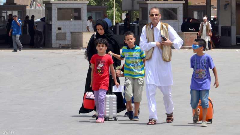 عائلات بأكملها تركت ليبيا بسبب القتال