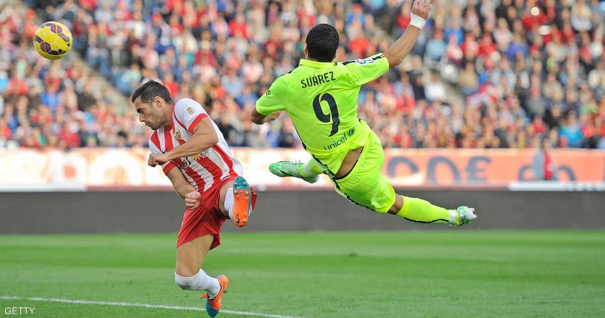 نيمار وألبا ينقذان برشلونة أمام ألميريا