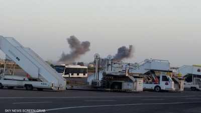 ضربات جوية للجيش الليبي تستهدف الميليشيات في قاعدة معيتيقة