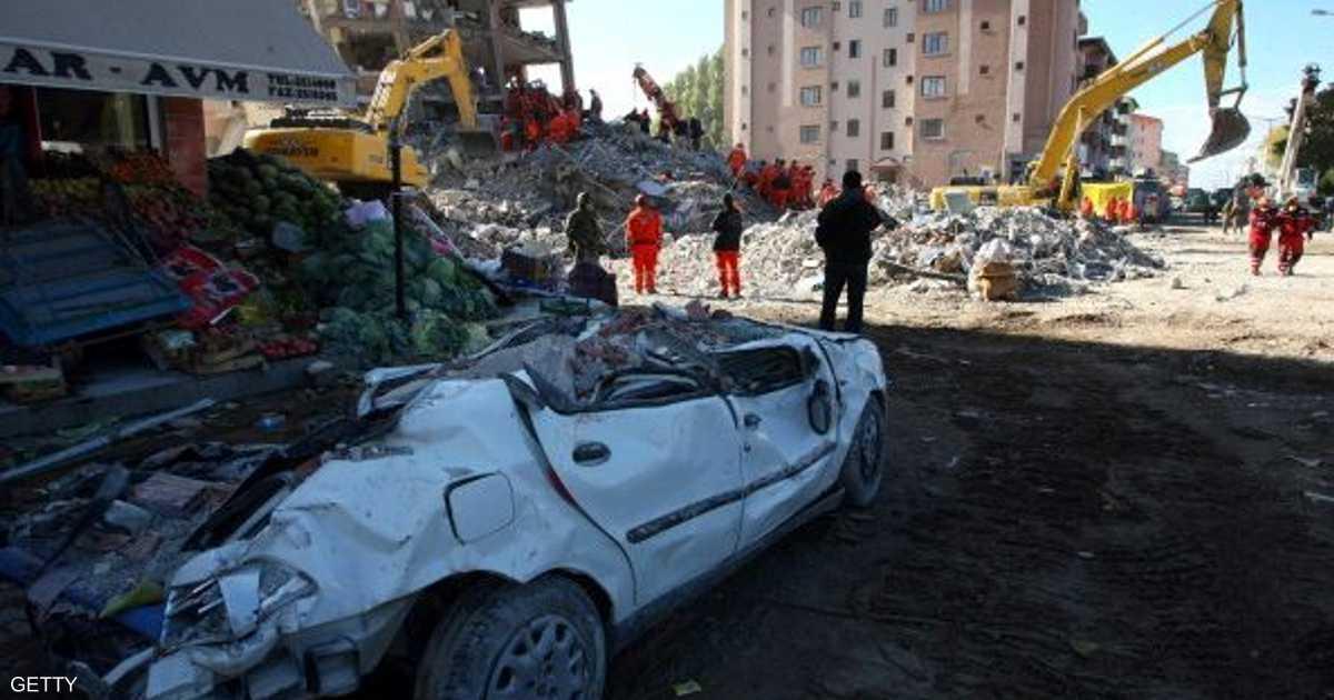 زلزال شديد قبالة سواحل تركيا يتسبب بموجات مد   أخبار سكاي نيوز عربية