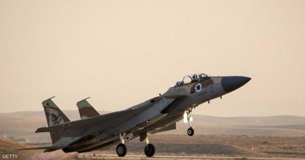 ضربات جوية إسرائيلية على الجولان