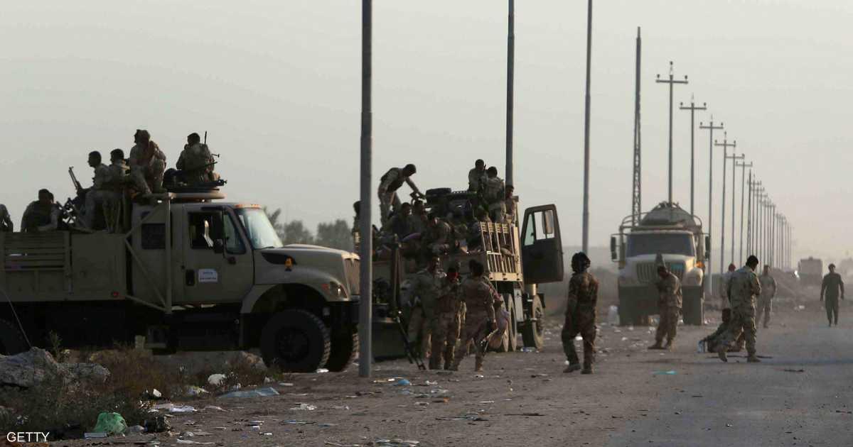 """القوات العراقية تدخل """"الضلوعية"""" شمال بغداد"""