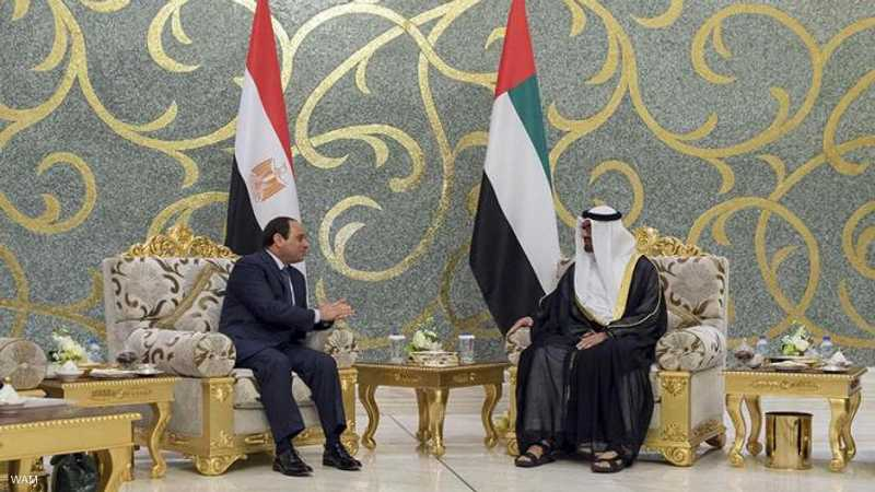 السيسي إلى الإمارات في زيارة رسمية