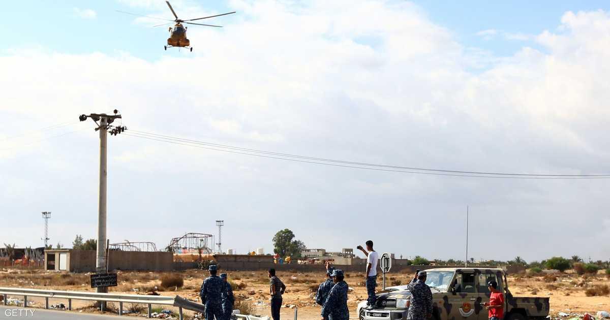 تحطم طائرة لفجر ليبيا قرب حدود تونس