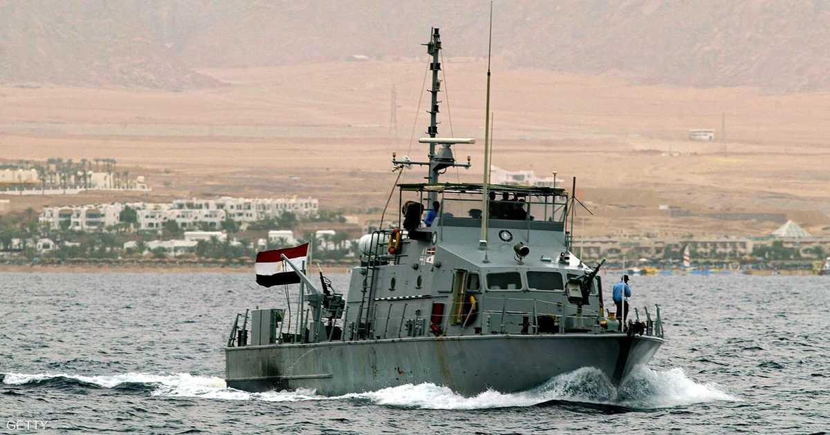زوارق حربية مصرية تصل إلى باب المندب