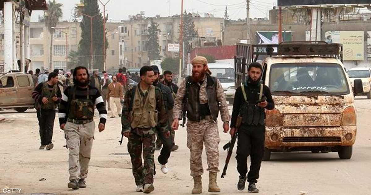 الطيران الحربي السوري يغير على إدلب
