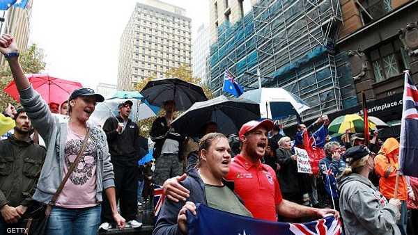 """تظاهرة """"معادية"""" للإسلام في أستراليا 1-735562"""