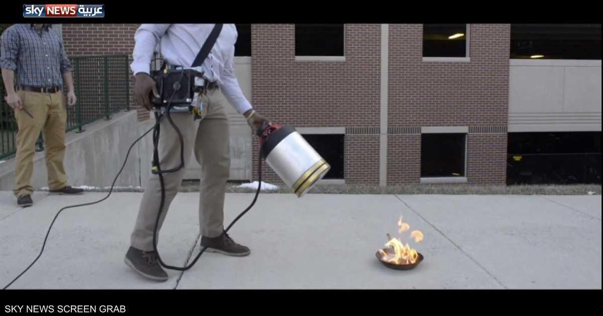 الصوت.. وسيلة جديدة لإخماد الحرائق
