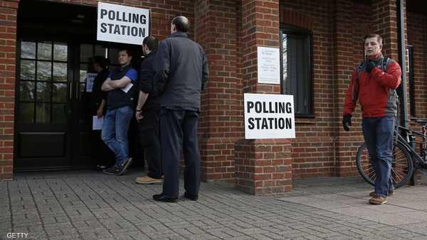 مراكز الاقتراع , الانتخابات , انتخابات بريطانيا , انتخابات بريطانية , المملكة المتحدة , أيرلندا , اسكتلندا