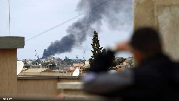 هجوم صاروخي يستهدف مدنيين بنغازي