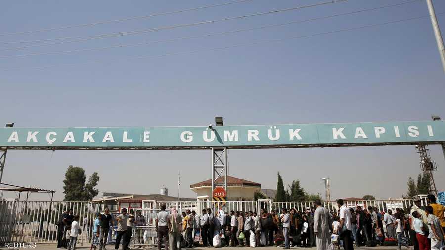 وحكومة أنقرة قررت الأربعاء فتح معبر أقجه قلعة للسماح بعودة السوريين
