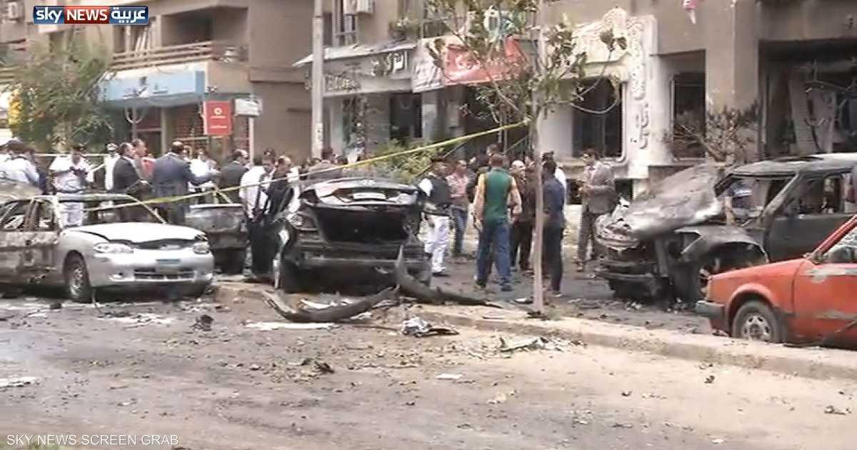 مقتل النائب العام المصري بتفجير موكبه