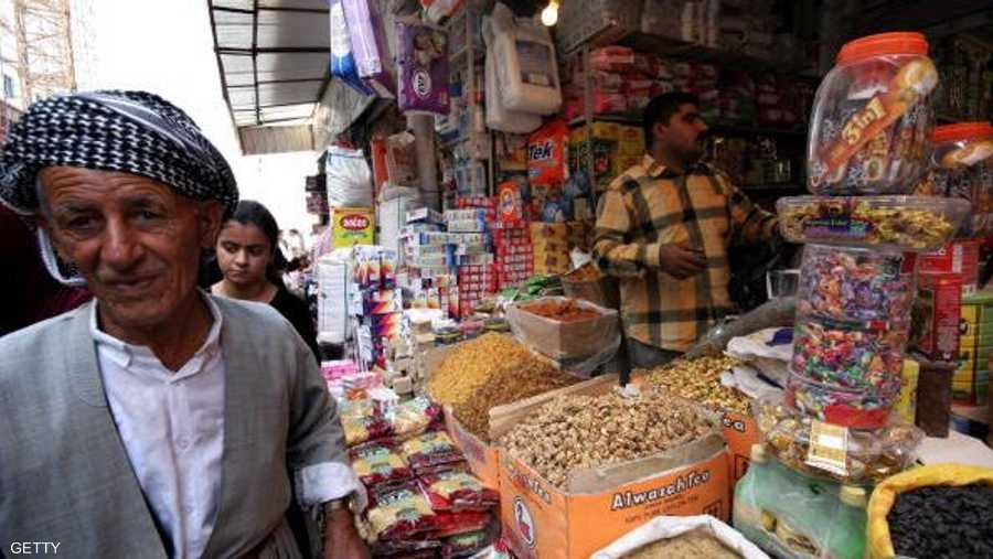 أسواق المدن الكردية عامرة بالبضائع في الشهر الكريم