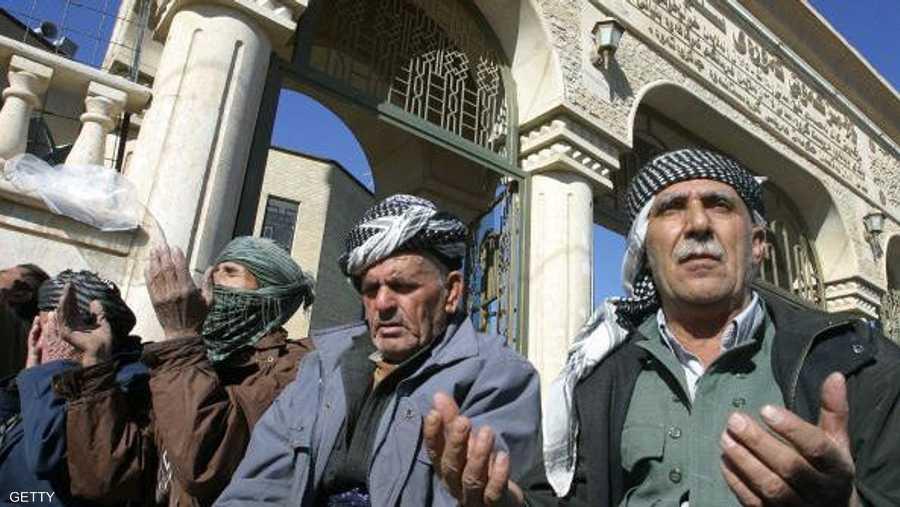 دعاء وابتهال إلى الله بعد صلاة الجمعة في مدينة السليمانية