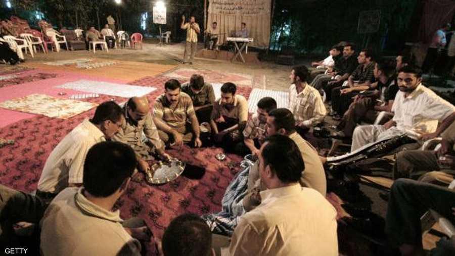 لعبة الصينية من الألعاب التراثية التي يعشقها الأكراد في شهر رمضان