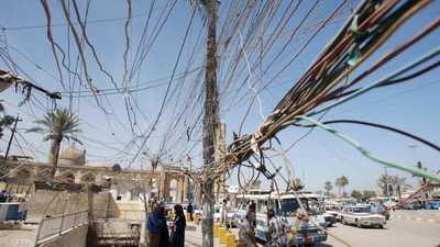 شبكة الكهرباء في العراق تعرضت لعدة هجمات