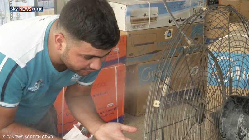 درجات الحرارة في العراق تتجاوز الـ50