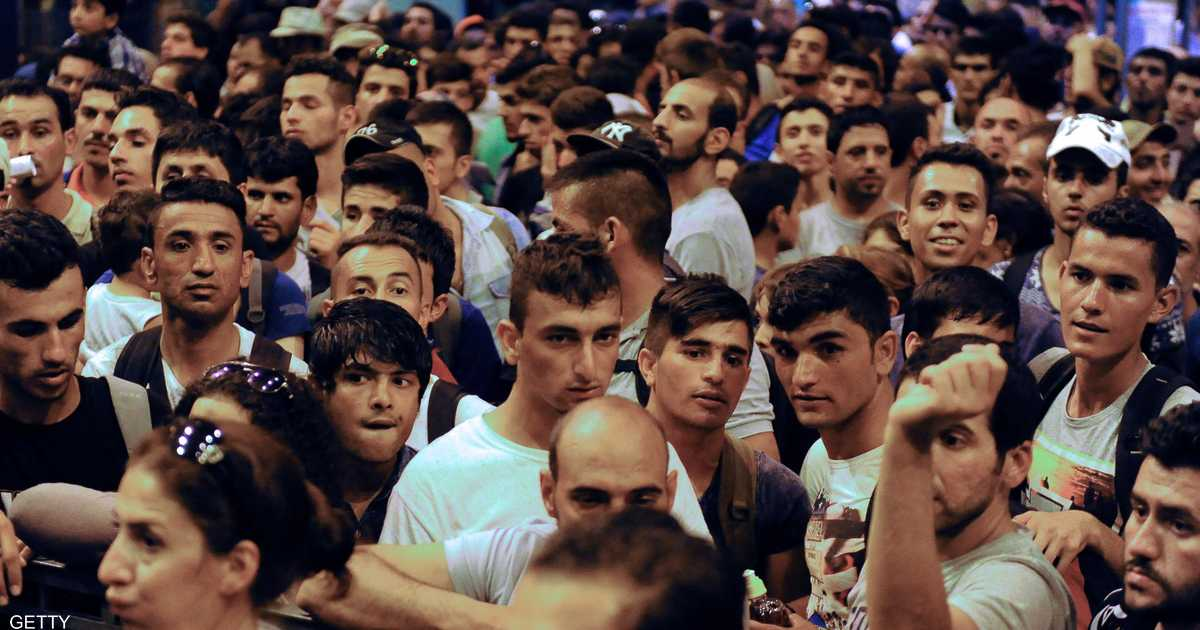 لاجئون يصلون ألمانيا من المجر