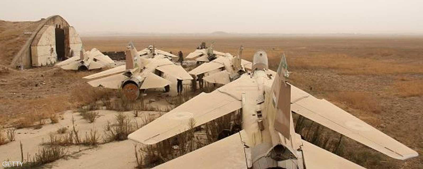 20 طائرة مقاتلة توقفت عن قصف مواقع المعارضة المسلحة في سوريا