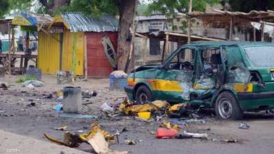 """هجوم انتحاري يقتل 19 بمعقل """"بوكو حرام"""""""