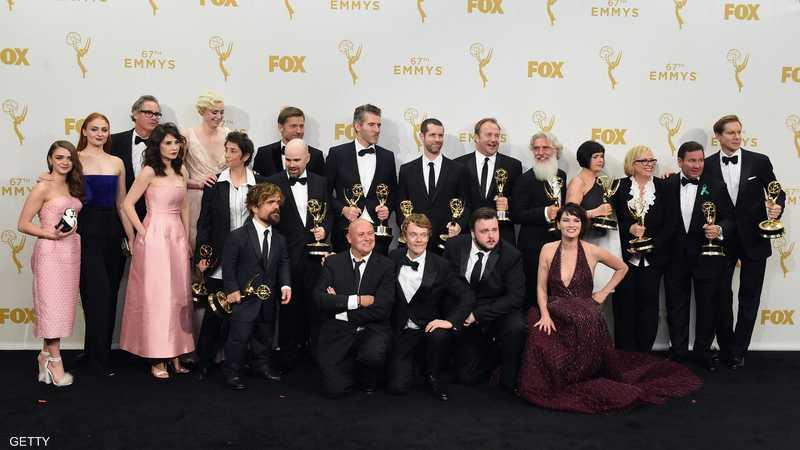 مسلسل (غيم أوف ثرونز) تألق في الحفل وحصد جوائز إيمي عن أفضل إخراج وأفضل تأليف وأفضل ممثل مساعد في فئة الدراما