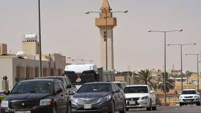 أرشيفية لأحد شوارع العاصمة السعودية الرياض