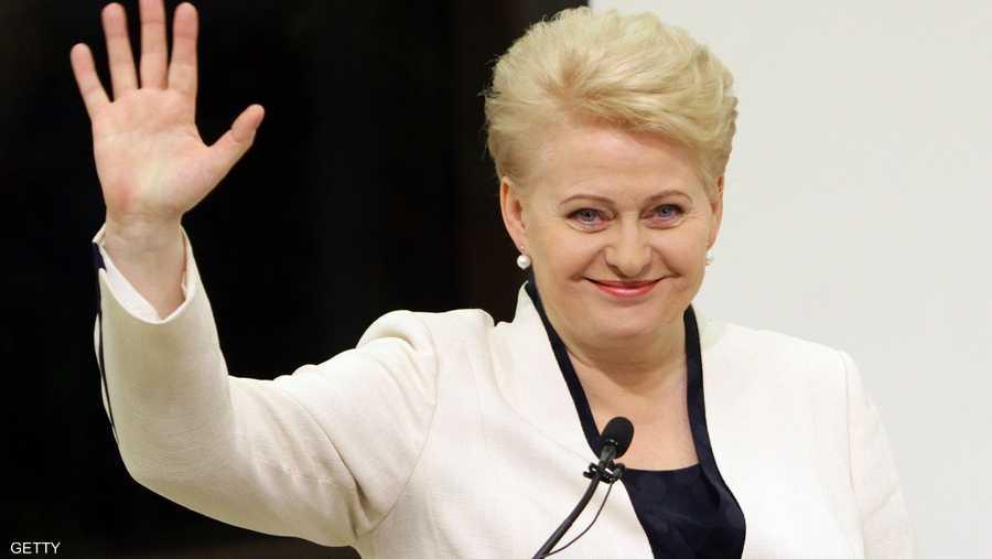 داليا غريباوسكايتي رئيسة ليتوانيا منذ 12 يوليو 2009